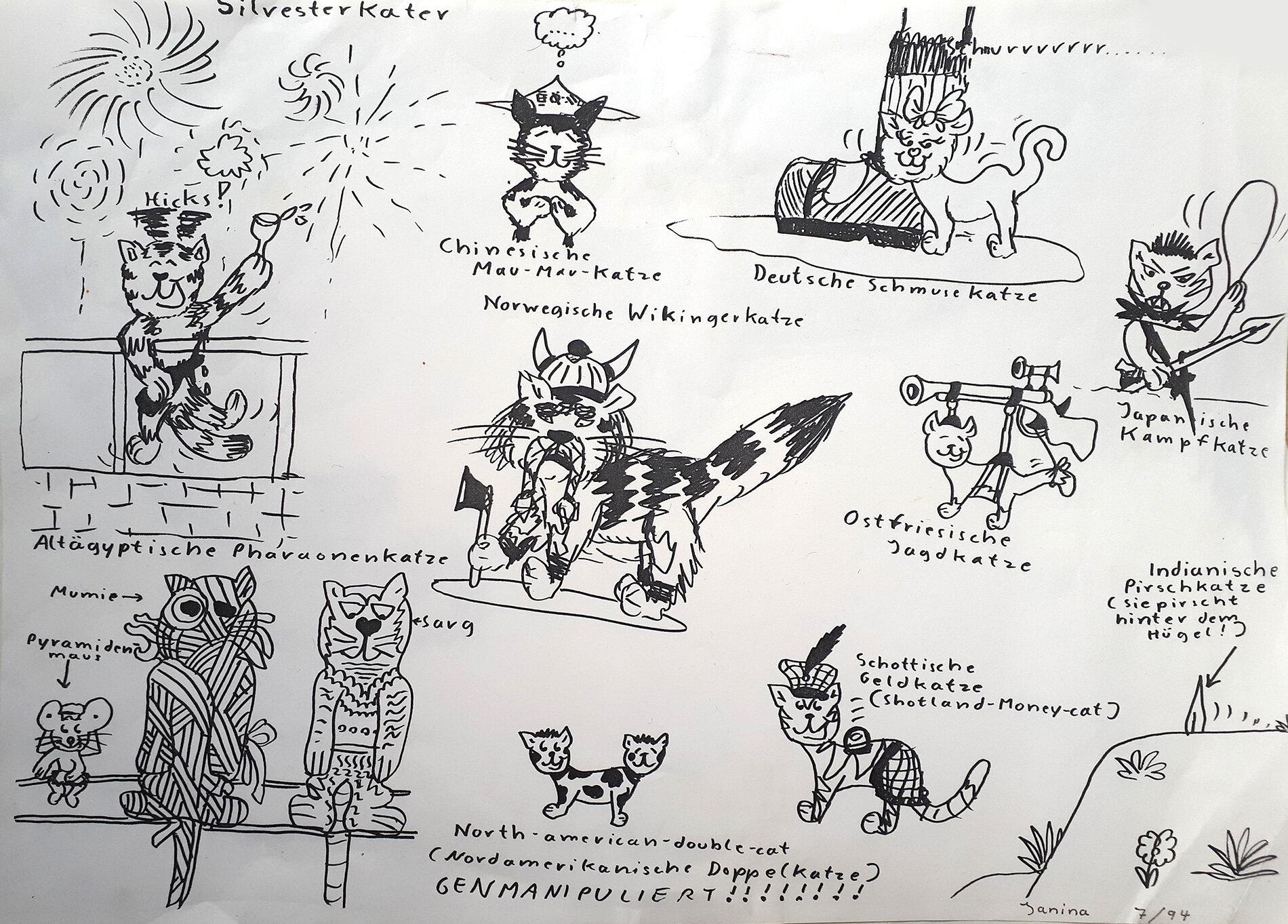 Katzenarten (07/1994)