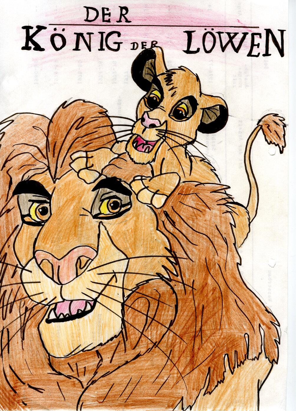 Disney: Der König der Löwen, Mufasa und Simba (11/1994?)