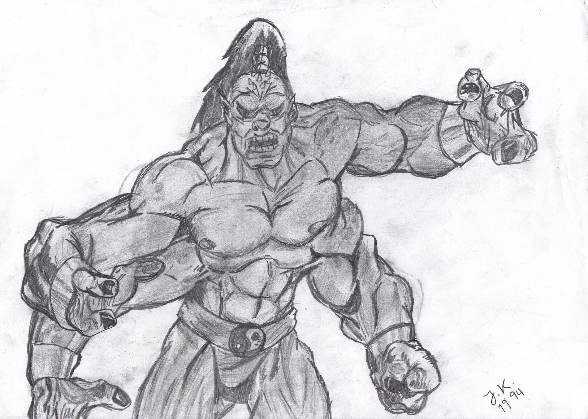 Mortal Kombat: Goro (1994)