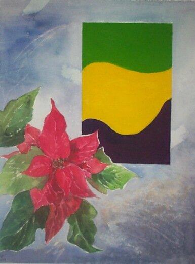 1996-12 Blume-abstrakt-weihnachtsstern