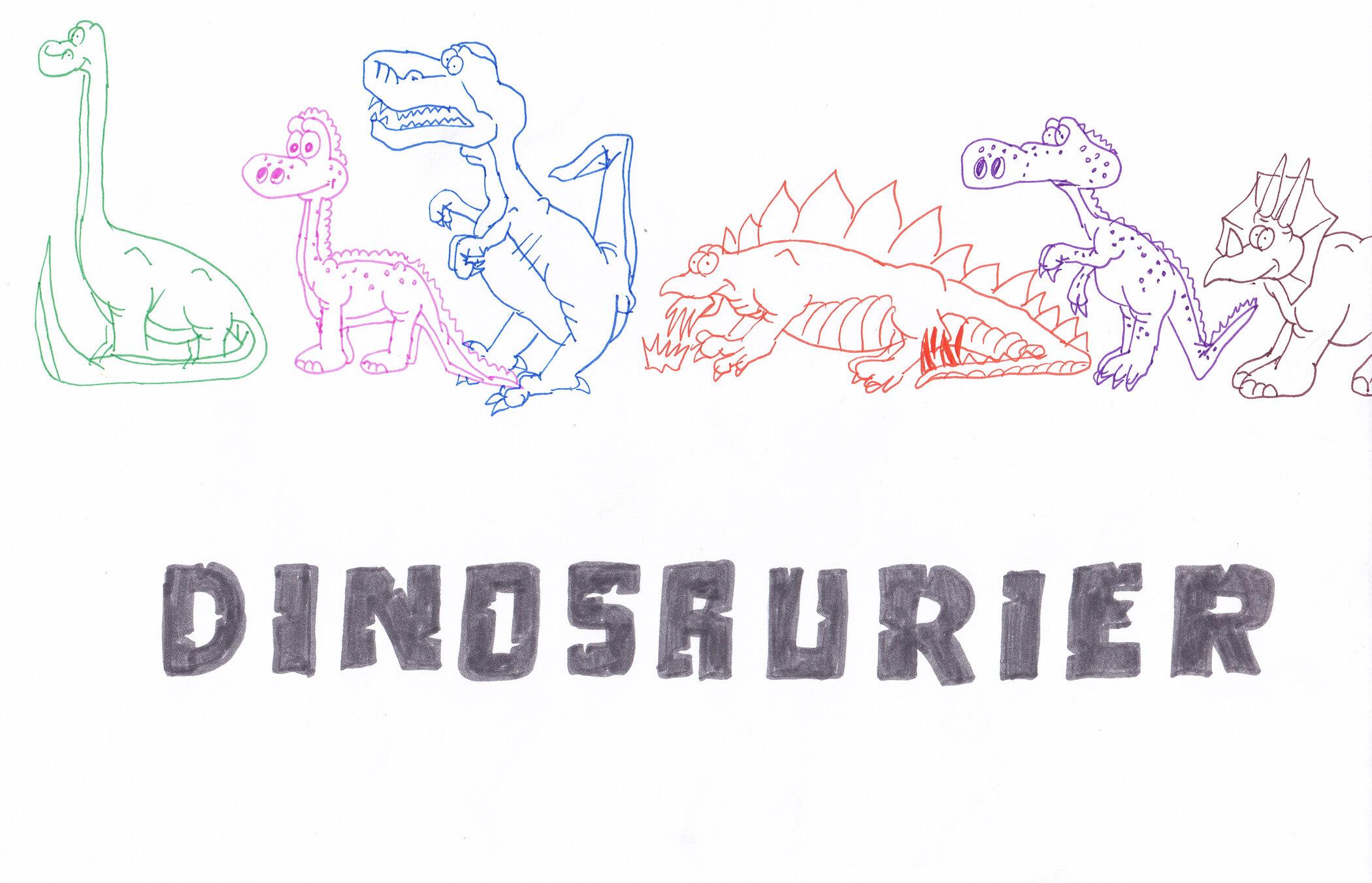 Dinosaurier Titelbild (07/1997)