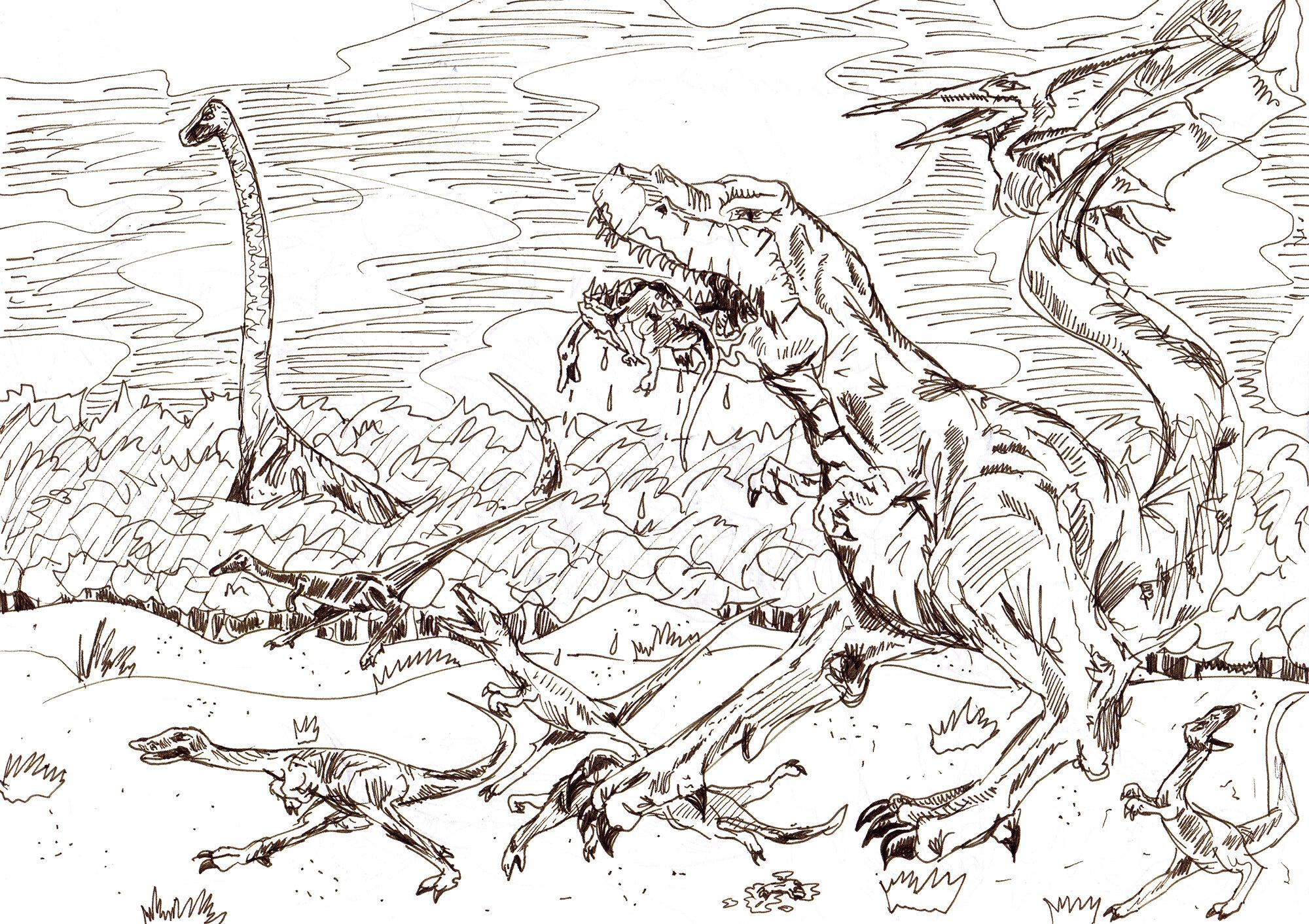 Dinosauriergemetzel (09/1997)