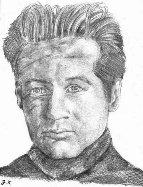 Portrait: David Duchovny / Fox Mulder (08/1998)
