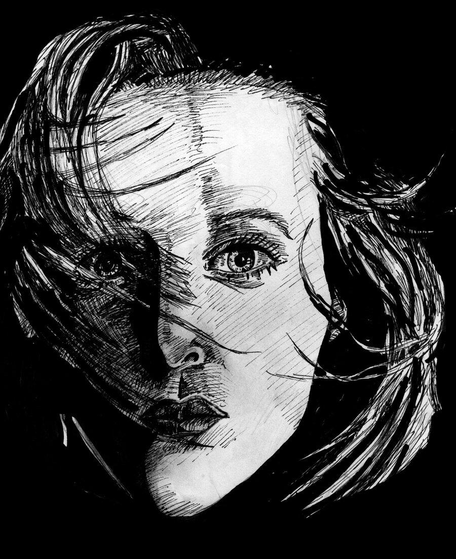 Portrait: Gillian Anderson / Dana Scully (03/1999)
