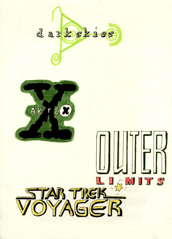 Logos meiner Lieblingsserien (03/1999)
