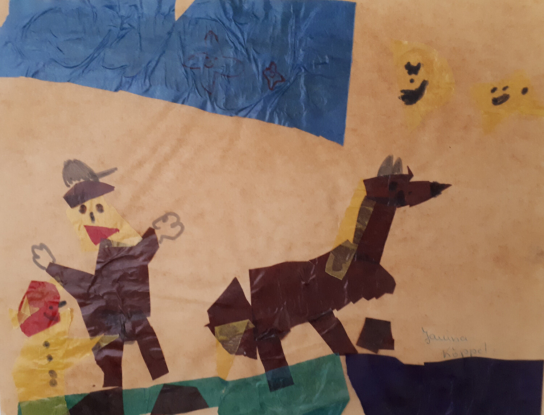 Kindergarten: Reiter (1988/89)