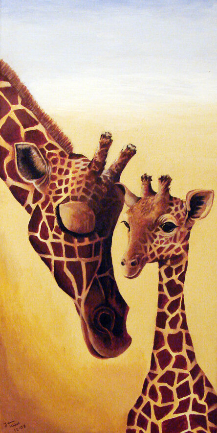 Acryl-tier-giraffen 2008-12