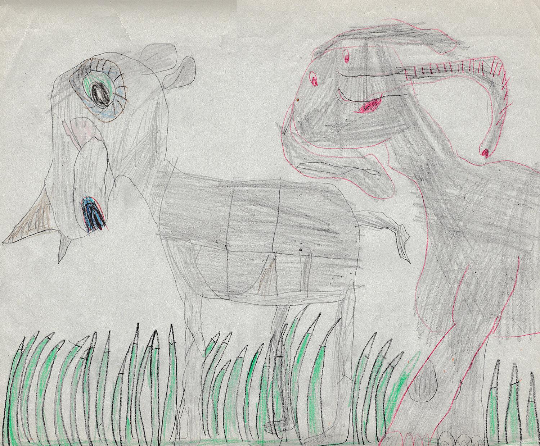 Elefant & Nashorn