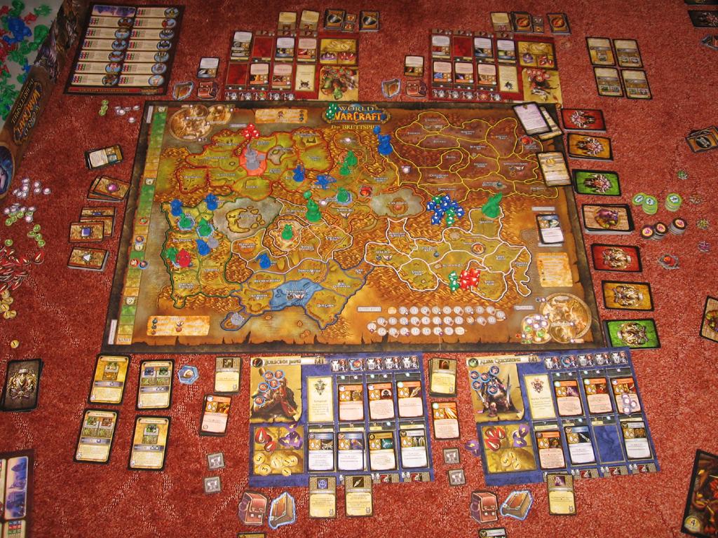 World of Warcraft - das Brettspiel