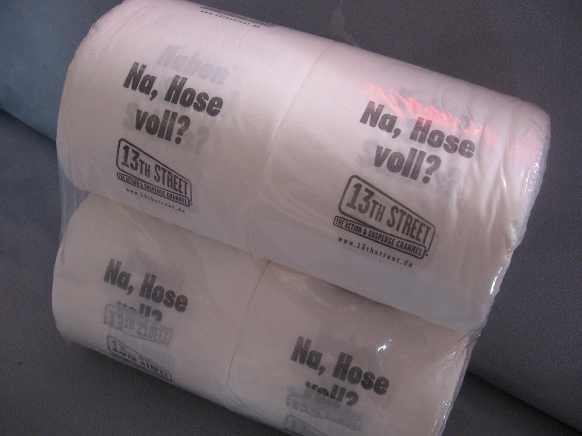 Fantasy Filmfest Toilettenpapier