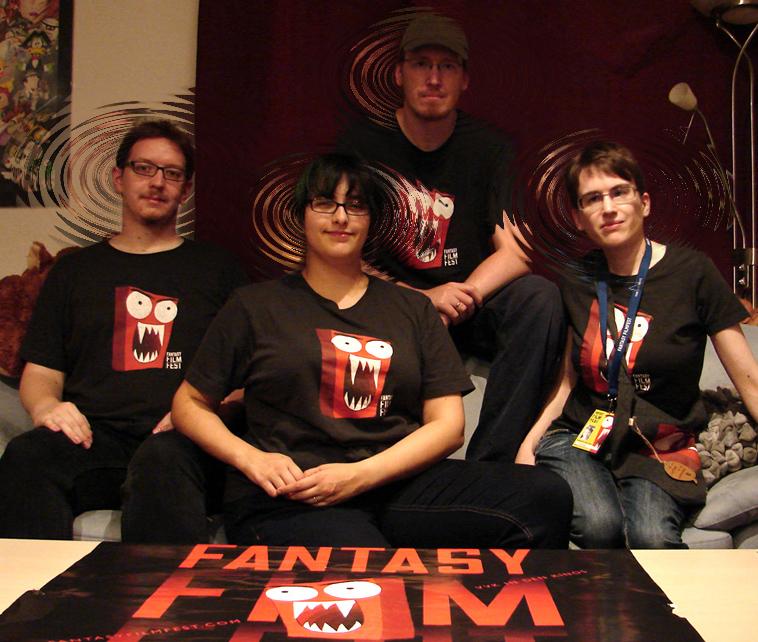 Aley, Sandra, Sven, Janina, FFF 2014